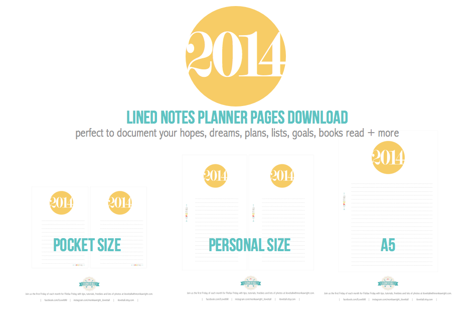 #filofax #planner #download #printable #2014 #organization #free #frankilincovey #lplanners #organizer #organiser