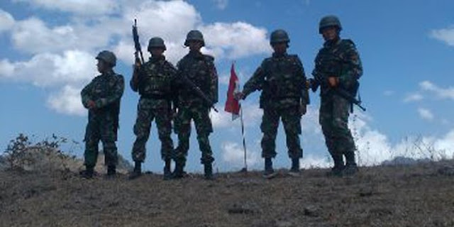 Kisah Heroik Komandan muda di batas negara
