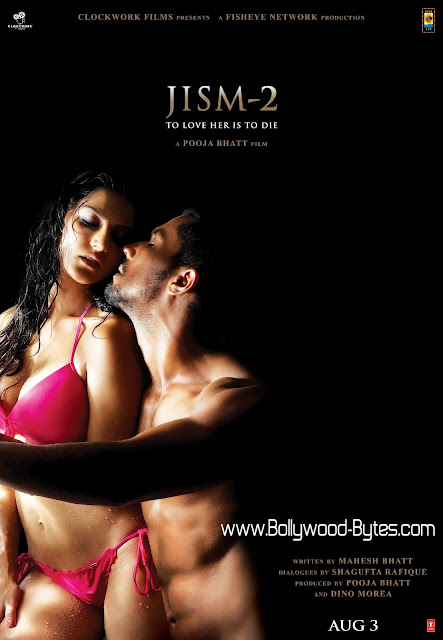 Exclusive Super Hot Jism 2 Poster - Featuring Sunny Leone and Randeep Hooda