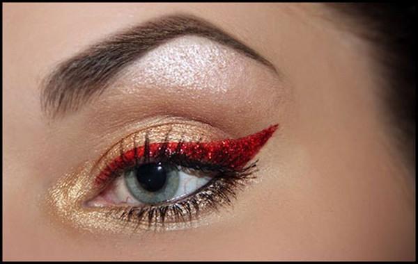 Maquiagem para o Natal 2015, fotos, inspirações e modelos