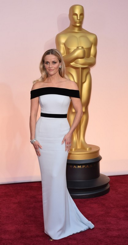 Reese Wintherspoon, Tom Ford, red carpet, looks, outfit, oscars 2015, oscar