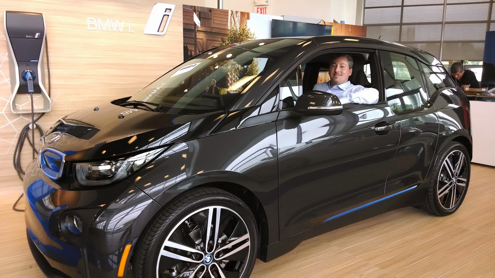 The Electric Bmw I3 May 2014