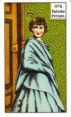 CARTA 8 TAROT GITANO