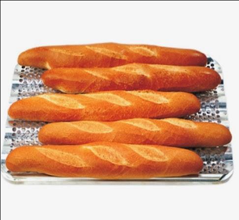 Tava Ondulata din Aluminiu pentru Baghete Franceze, Tavi de Cuptor Profesionale Horeca import Olanda, Produse Brutarii, Braserii, www.amenajarihoreca.ro