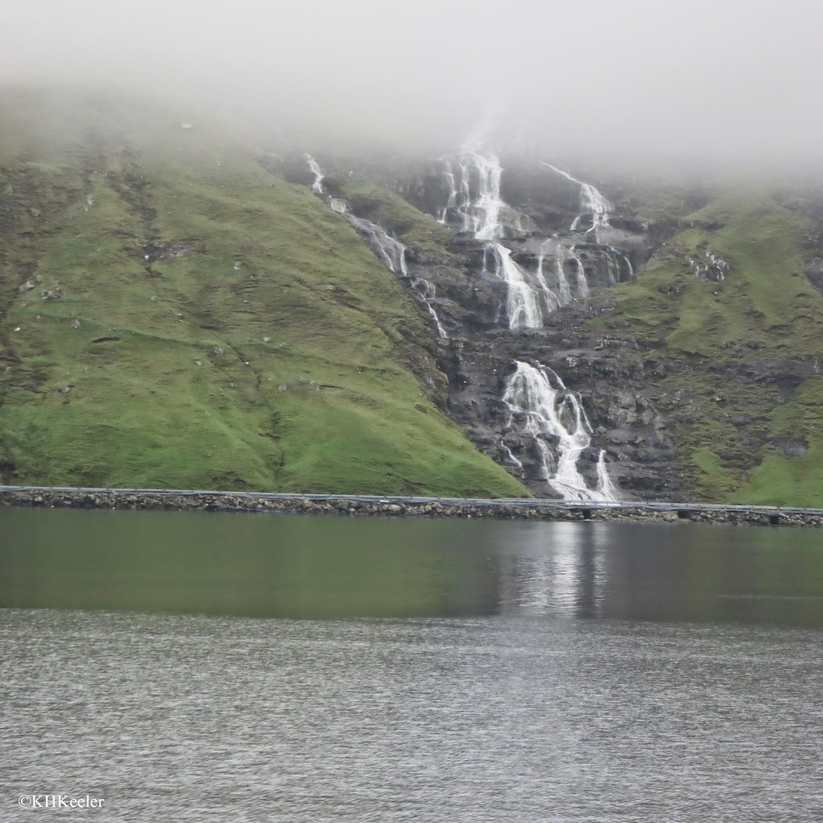waterfalls, Faroe Islands