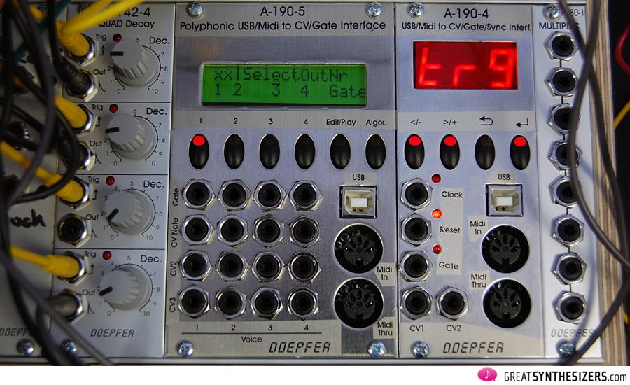 Patchpierre Net Doepfer A 190 4 Usb Midi To Cv Sync