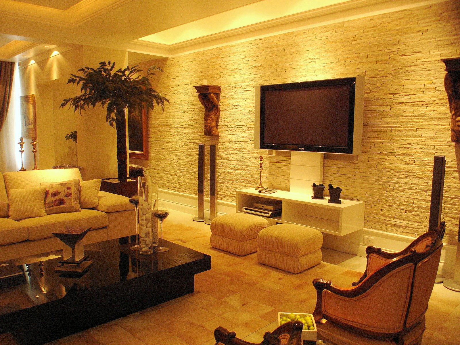 Sonhando com o apê: Sala com canjiquinha #BC950F 1600x1200
