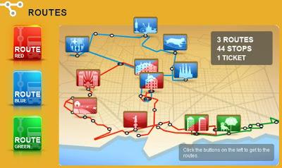 Barcelona Bus Turístic routes