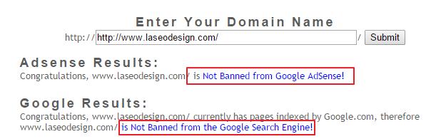 موقع لمعرفة موقعك ان كان مخالف لسياسة جوجل ادسنس