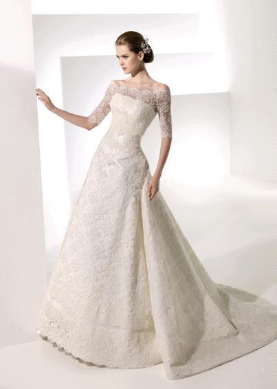 robe de mariée pas cher: Mariage hivernal est à la mode