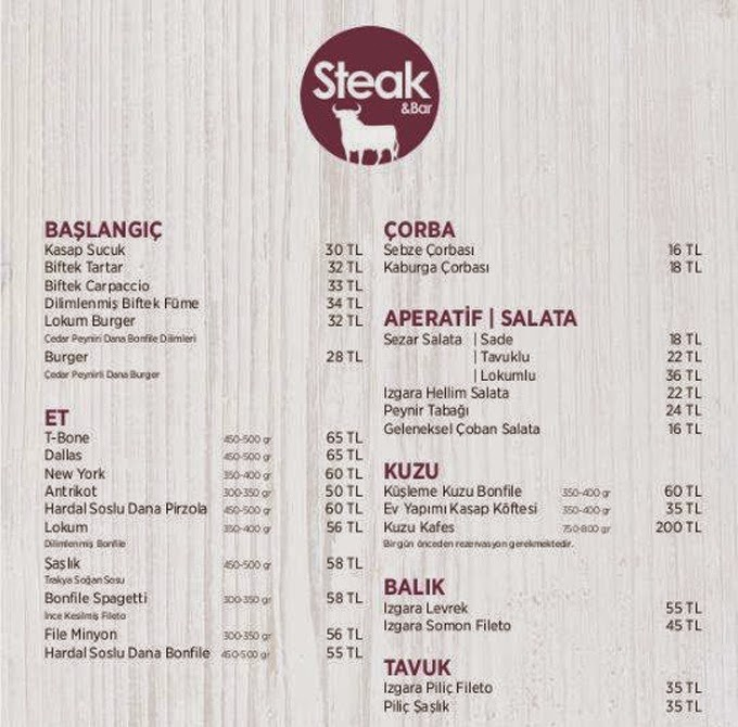dresort-grand-azur-marmaris-steak-bar-restaurant-menu