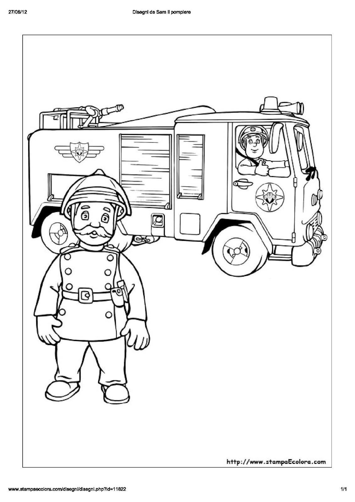 Contofinoa ancora sul pompiere sam