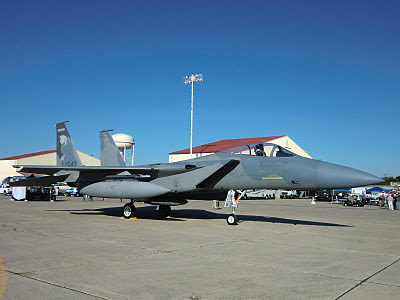 Randolph Air Force Base 2011 Air Show: F-15 Eagle