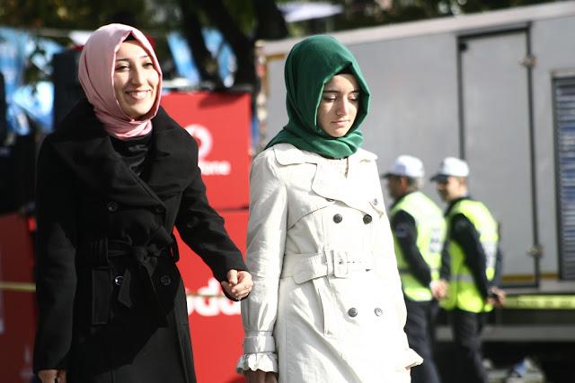 The Istanbul Eurasia Marathon 2012, enjoying the CAR FREE ROAD!!!!!