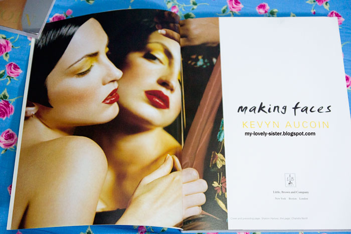 My Lovely Sister ♥ a blog with love: Book Review 3 : Making Faces by ...