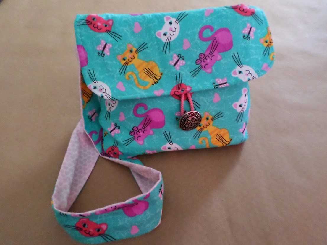 Messenger Bag for my daughter Ava