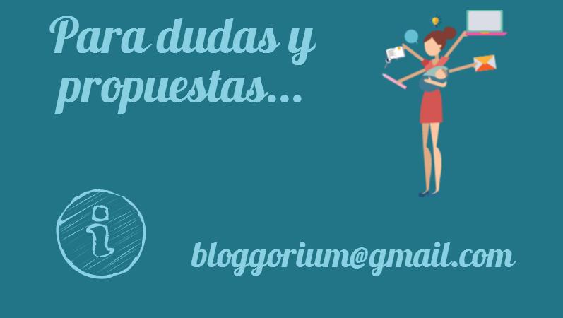 Contacta con Bloggorium
