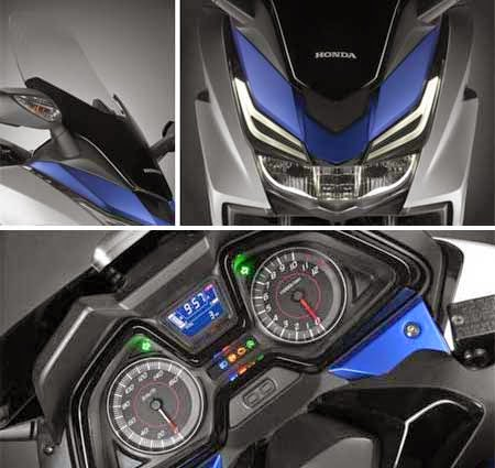 gambar motor Honda Forza & Fiturnya