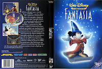 Capa do filme Fantasia, da Disney