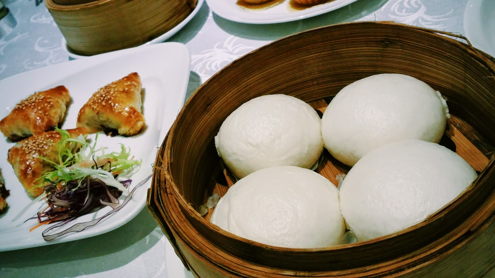 Glitz of my life dim sum huating orchard hotel for Perfect kitchen dim sum