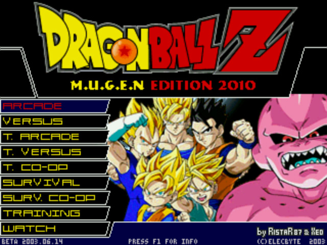 Dragon Ball Z Kai Mugen Edition 2012