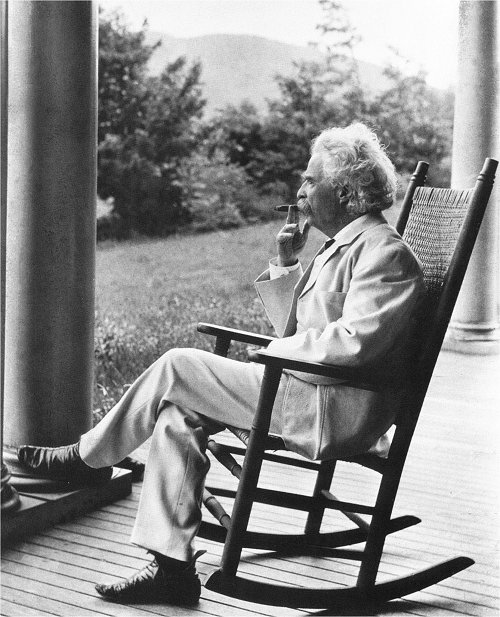 """the analytical biography of mark twain the pseudonym of samuel clemens Born in 1835 as samuel langhorne clemens, twain worked as a river boat  captain on  in 1862, he first used the pen name """"mark twain,"""" taken from the  river."""