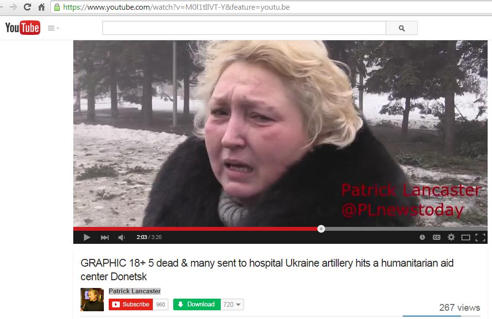 Террористы обстреляли мирных жителей, пришедших за гуманитарной помощью в Донецке. Погибло минимум 7 человек, - СНБО - Цензор.НЕТ 457