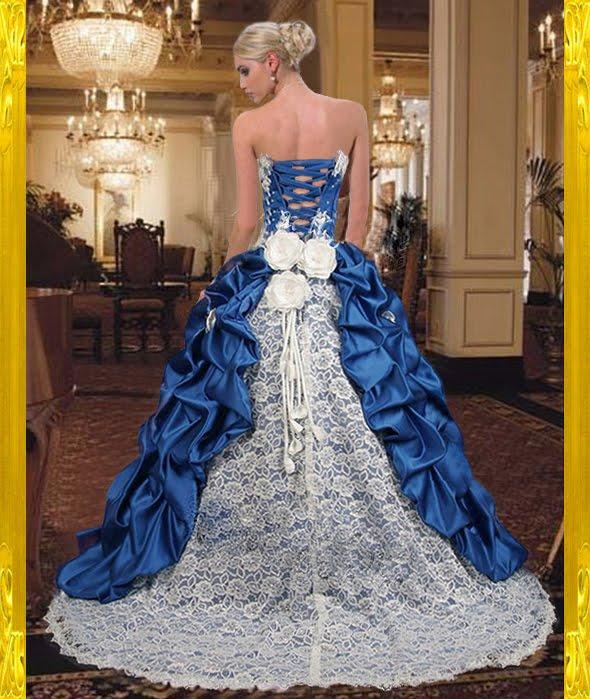 Matrimonio di Moda: Più bei vestiti di matrimonio blu