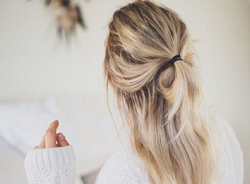 Half bun ou meio-coque: penteado-aposta do verão