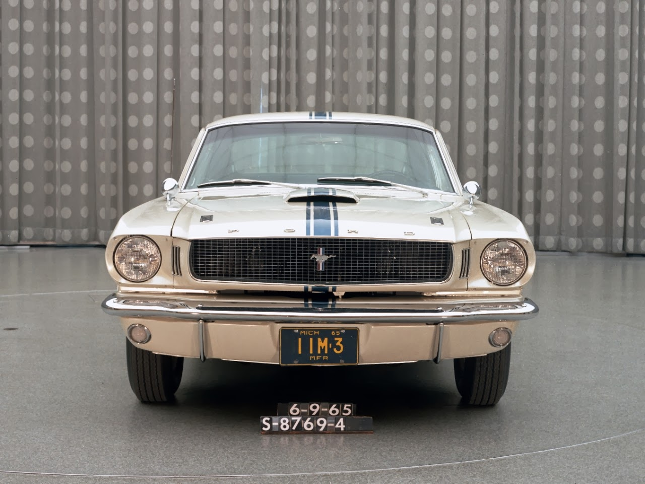Virginia Classic Mustang Blog Check Out This Cool Edsel 1964 Ford Fastback Iis Christmas And Birthday Gift A Specially Modified 1965 Image Courtesy Of Motor Company