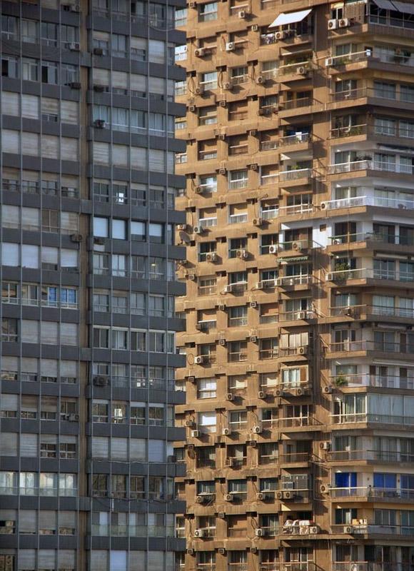 bina perspektif göz yanılması