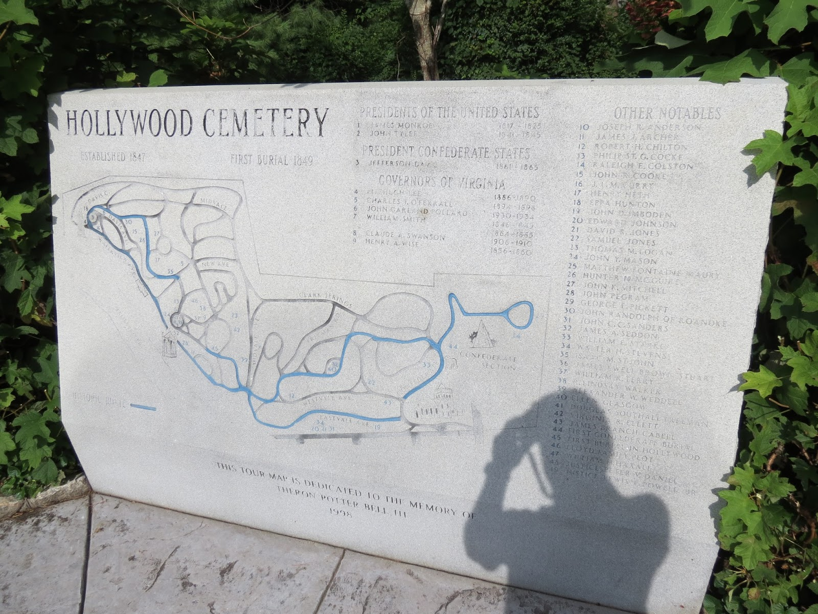 BirdsEyeViews Hollywood Cemetery Richmond Va