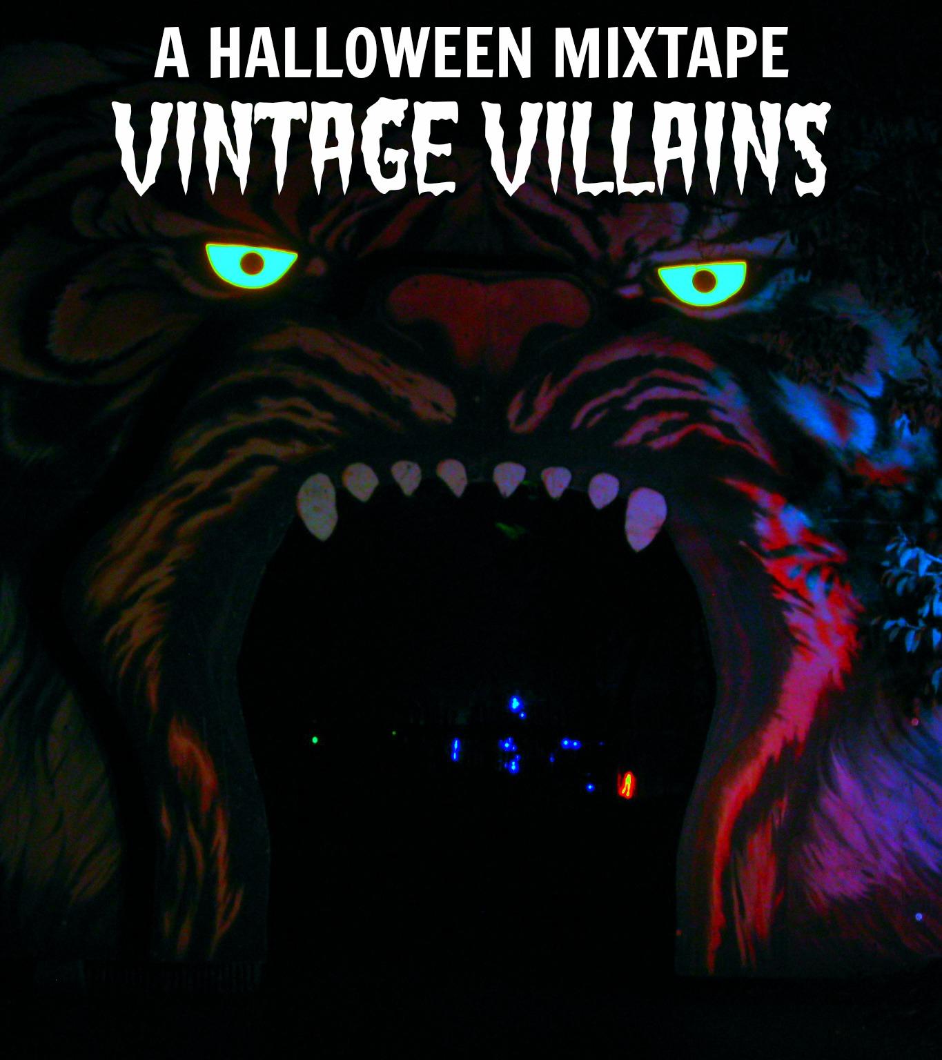 on my honor: halloween mixtape: vintage villains