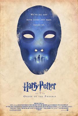Harry potter y la orden del fenix poster