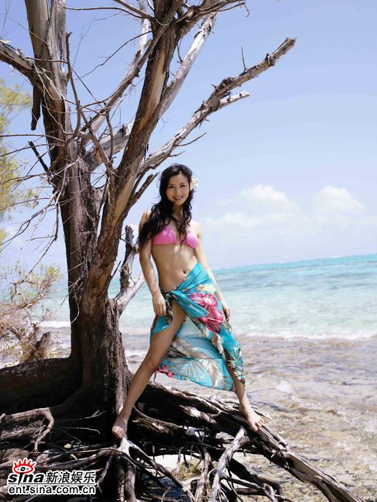 chen hao sexy beach bikini photo 03