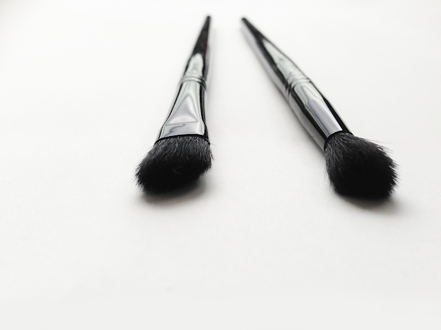 E2 mua eyeshadow contour brush E3 mua blending eye shadow brush review