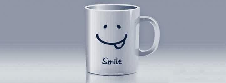 gambar kronologi facebook keren gelas smile