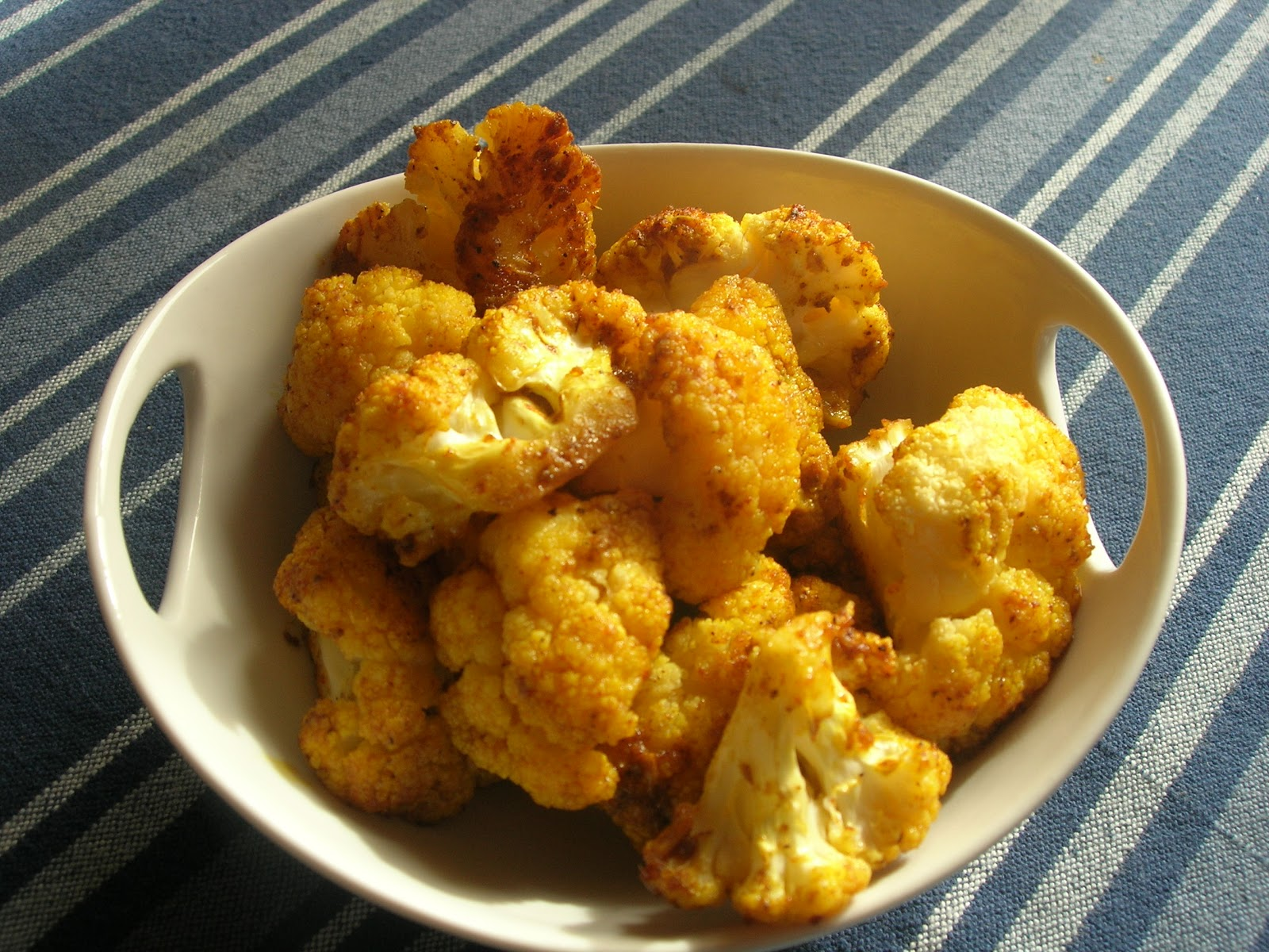 how to cut cauliflower into wings