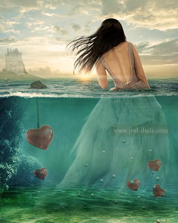 Membuat Foto Fantasy Valentine dengan Photoshop.