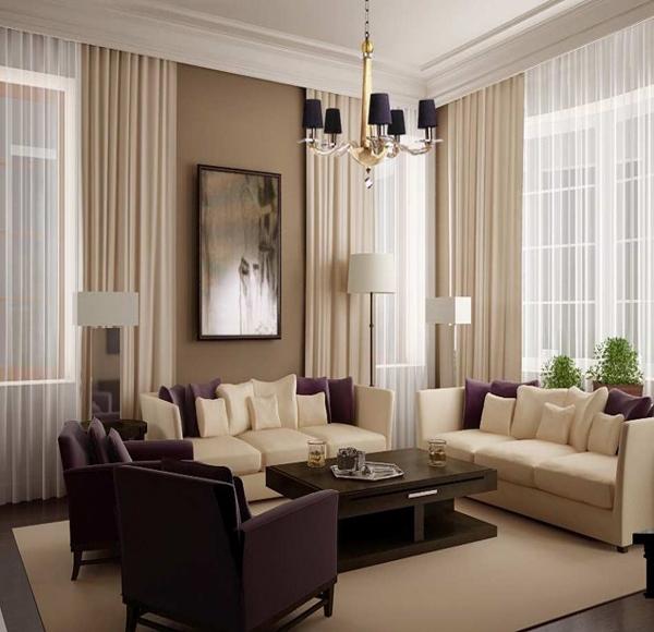 gambar ide desain interior ruang tamu mewah 2015 model