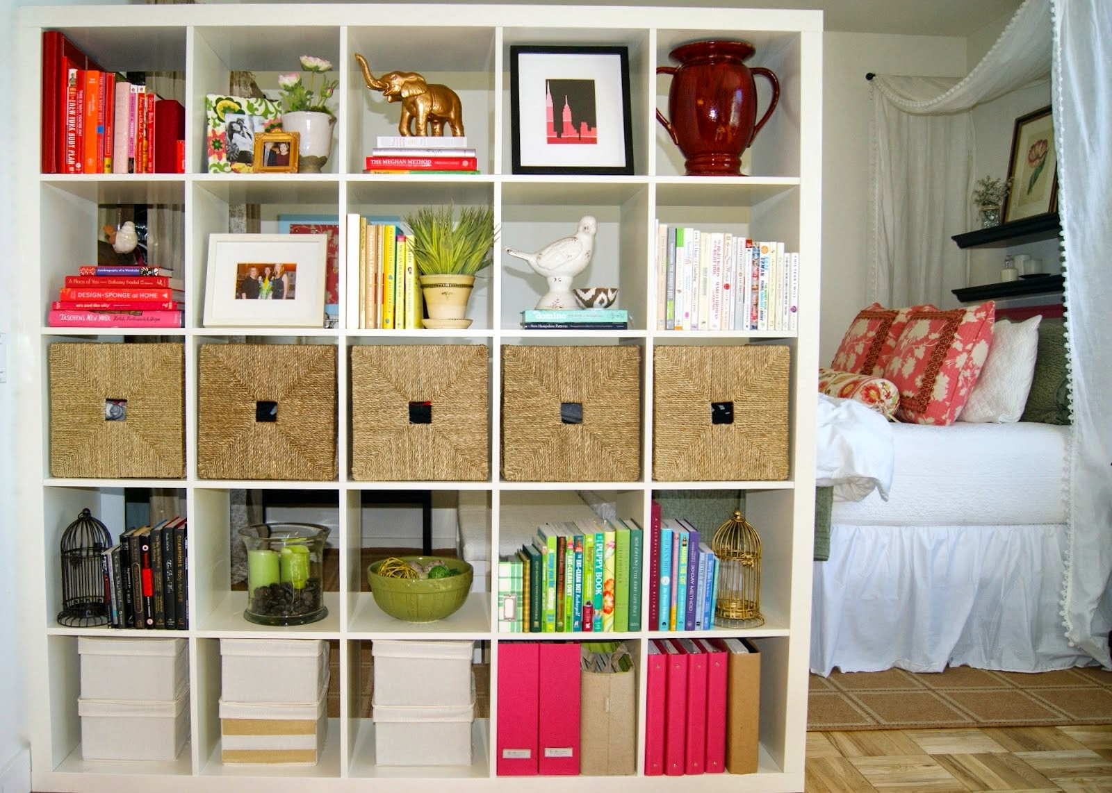 IKEA Room Divider Bookcase Storage