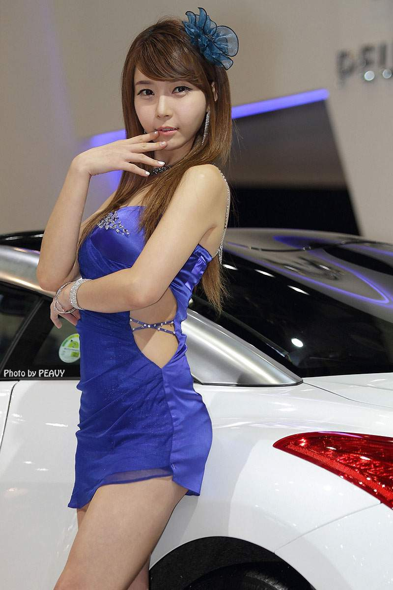 Asian racing girls