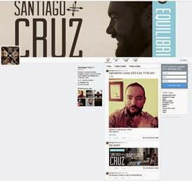 Santiago-Cruz-lanzará-nuevo-video-exclusiva-Twitter
