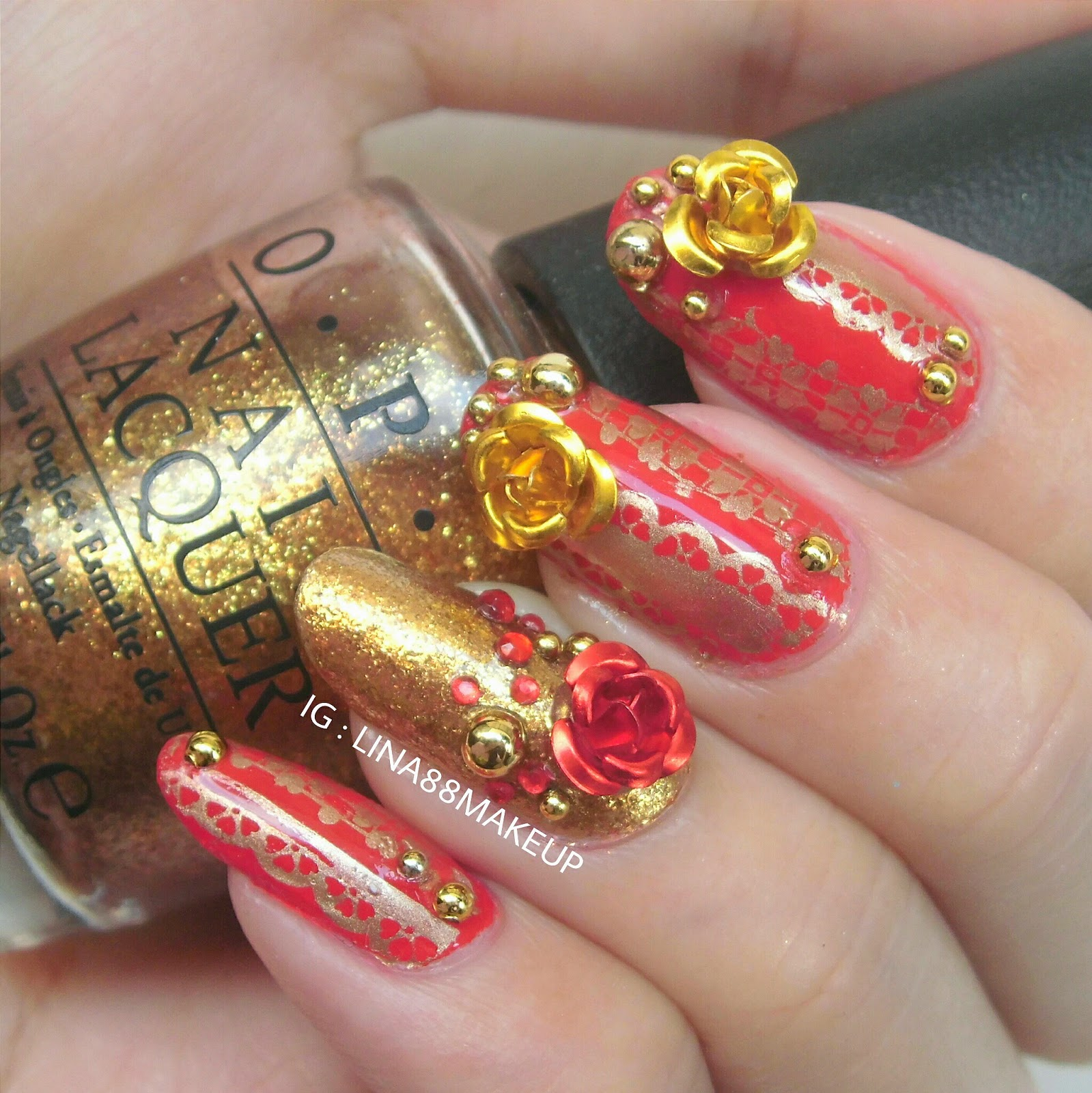 Nail designs for chinese new year new years nail art pinterest prinsesfo Choice Image