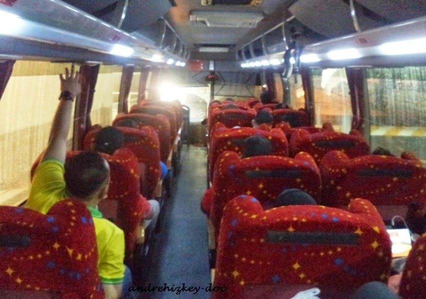Daleman Bus Konsortium, konfigurasi 1-2. Mantap!