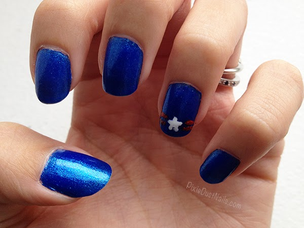 4th of July USA Nail Art