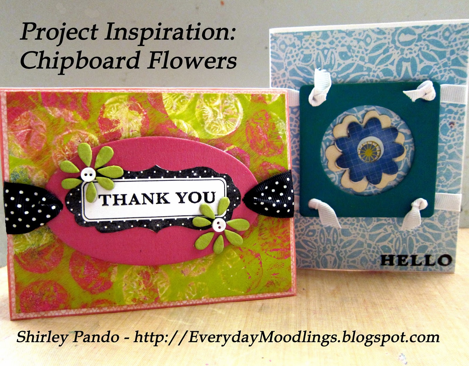 Chipboard Flowers Project Inspiration