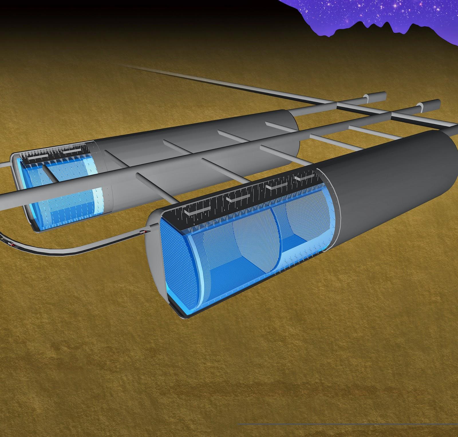 Hyper-K, le futur détecteur de neutrinos gigantesque