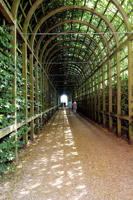 The Formal Gardens - Hampton Court Palace, London
