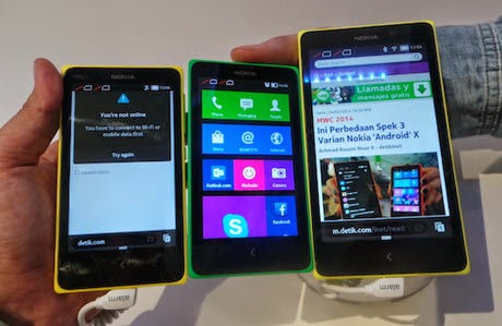 Nokia X Diklaim Sanggup Menyaingi Gadget Android